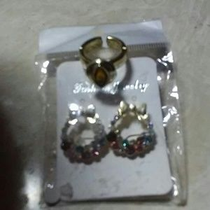 Jewelry - Earrings and ring